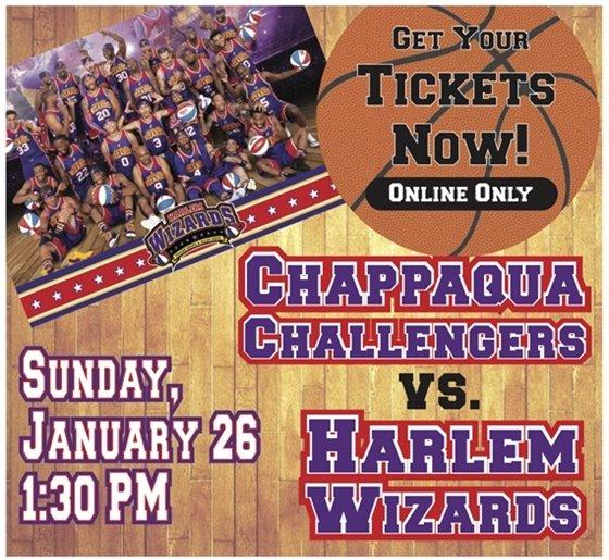 Harlem Wizards vs Chappaqua Challengers January 26, 2020