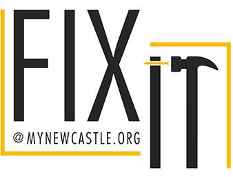 Fix It @ MyNewCastle.org Logo