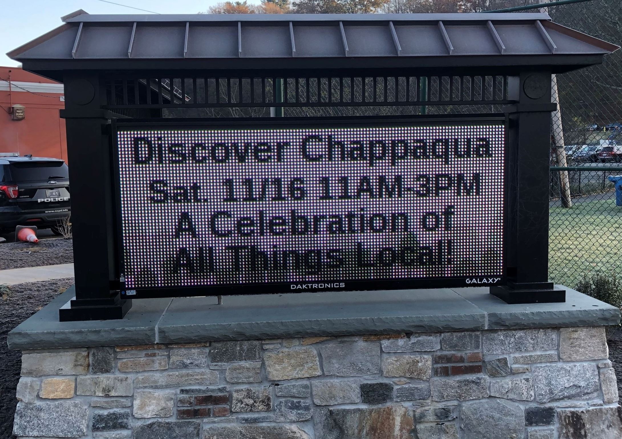 Discover Chappaqua on Downtown Digital Sign