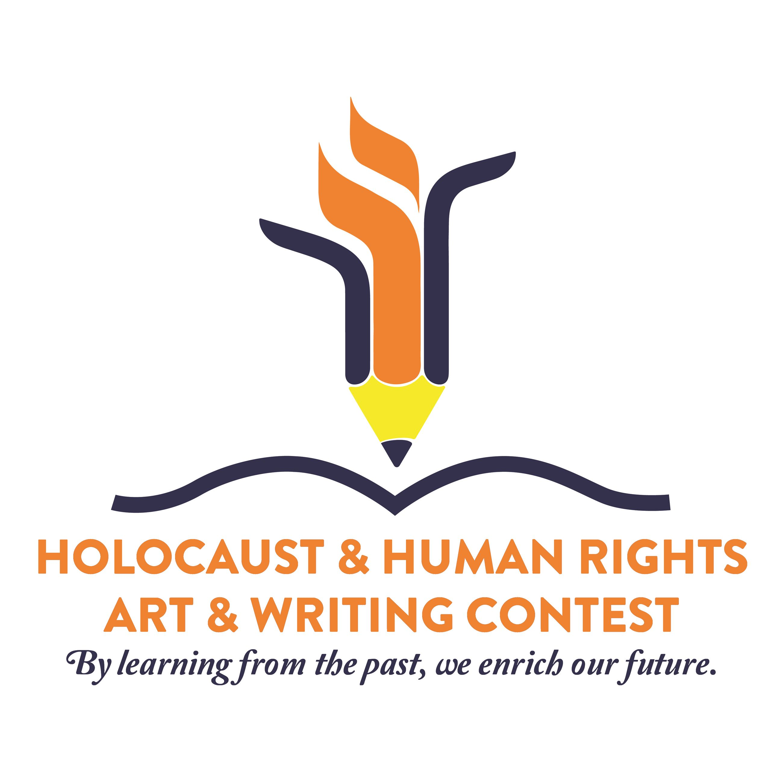 Holocaust Human Rights Contest Logo