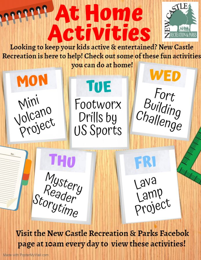 NC Recreation Activities Week of 3.30.20
