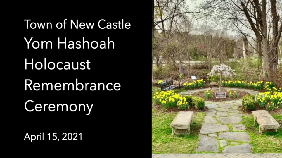 Yom Hashoah Remembrance Ceremony 2021 Titles