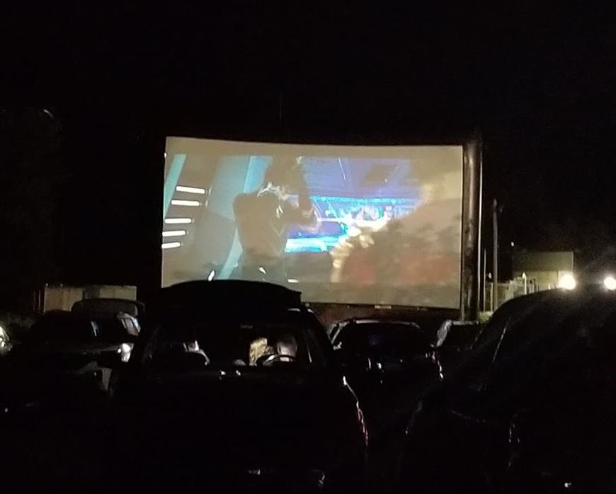 Black Panther Drive In Movie